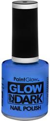 Nagellak Glow in the Dark - UV Neon Blauw