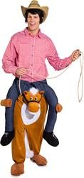 Piggyback Kostuum Paard