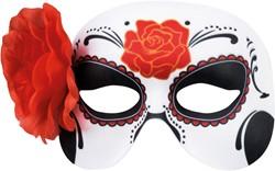 Oogmasker Day of the Dead La Blanca