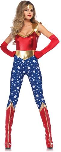 Catsuit Sensational Super Hero voor dames