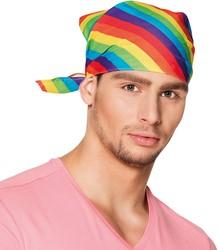 Bandana - Hoofddoek Regenboog Rainbow