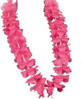 Hawaiikrans Roze Luxe