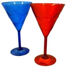 Cocktailglas Hawai Rood Plastic