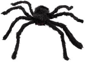 Harige Spin Zwart 70cm