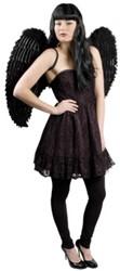Engelenvleugels Zwart 87X72cm