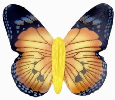 Vleugels Vlinder Jumbo Geel