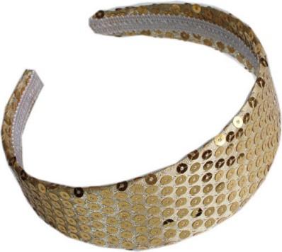 Haarband Pailletten Goud