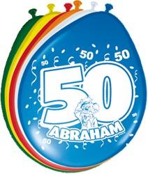 Ballonnen 50 Abraham 8st