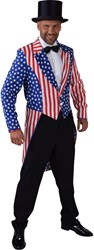 Heren Slipjas Amerika Stars and Stripes