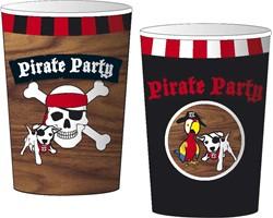 Bekers Piraat 8 stuks