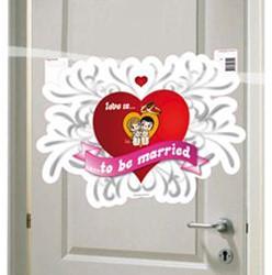 Deurbord Love is...
