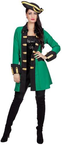 Damesjas Garde Groen-Zwart