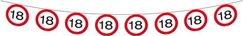 Vlaggenlijn 18 jaar Verkeersbord