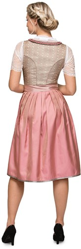 Dirndl Alison Luxe Roze (65cm)  -3