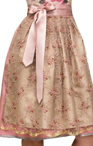 Dirndl Alison Luxe Roze (65cm) (detail 2)