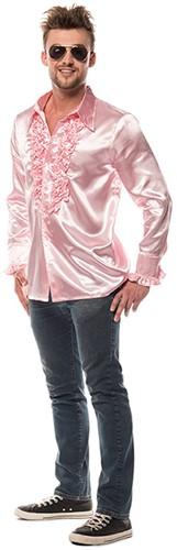 Rucheblouse Super Luxe Roze