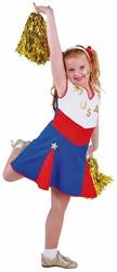 Cheerleader Kostuum USA voor meisjes