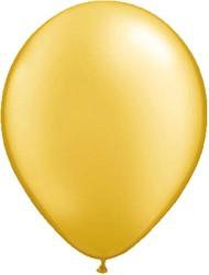 Ballonnen Metallic Goud 10st