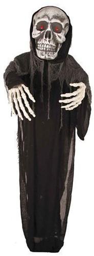 Halloween Hangdecoratie Skull met LED (275cm)