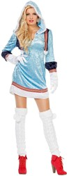 Dameskostuum Eskimo Blauw