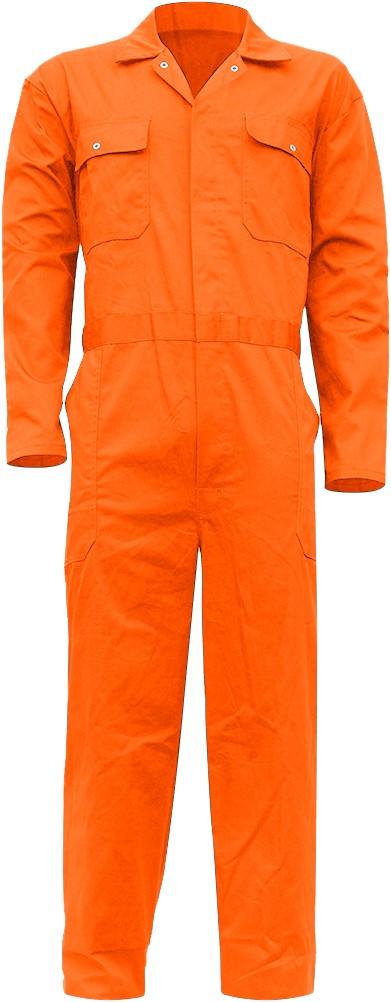 Wonderbaar Overall Oranje voor volwassenen OS-76
