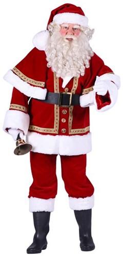 Kostuum Kerstman Fluweel Luxe