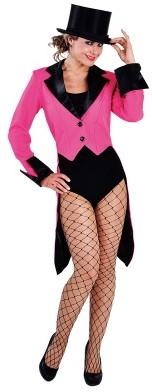 Slipjas Luxe Pink-Zwart