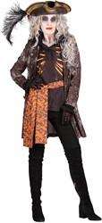 Halloween Kostuum Ghost Pirate voor dames