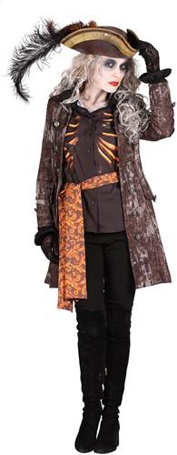 Halloween Kostuum Ghost Pirate voor dames-2