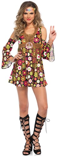 Hippie Jurkje Starflower voor dames