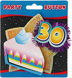 3D Button 30 Jaar