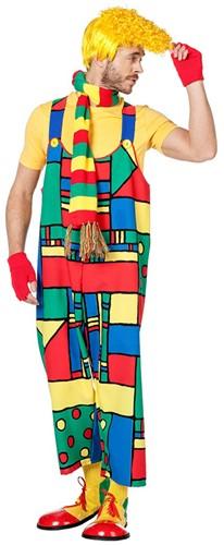 Heren Clownsbroek Mondriaan