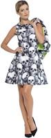 Dameskostuum Skeleton Skulls (2dlg.)-2
