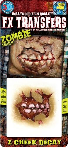 Professionele Wond FX - Zombie Cheek Dacay