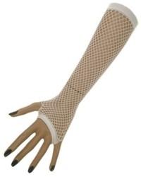 Nethandschoenen 23 cm z. Vingers Wit