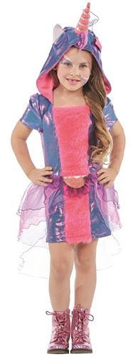 Jurkje Eenhoorn Paars-Roze voor meisjes