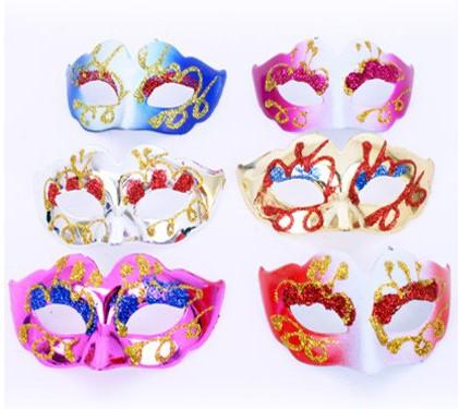 Mini Decoratie Oogmasker met glitter