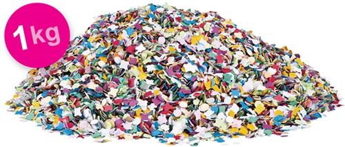 Confetti 1kg Multi