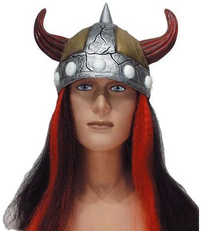Vikinghelm + Haar