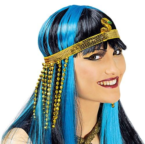 Hoofdband + Armband Cleopatra
