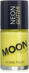 UV Nagellak Glitter Geel (14ml)