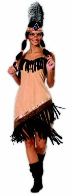 Kostuum Sexy Indiaanse