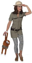 Dameskostuum Safari Girl