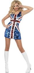 Jurkje Britse Vlag Pailletten