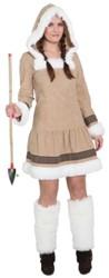 Dameskostuum Eskimo Girl Luxe