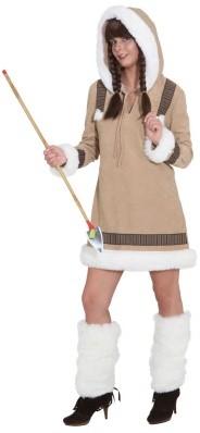 Dameskostuum Eskimo Luxe