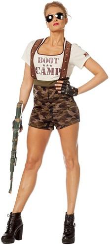 Catsuit Boot Camp voor dames