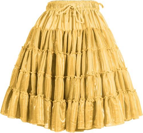 Petticoat Metallic Goud Luxe