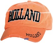 Baseballcap Holland Stonewash