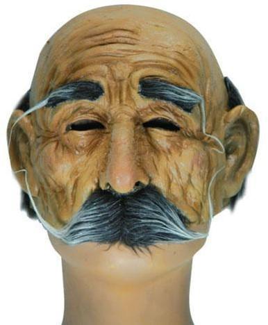 Halfmasker Oude Man